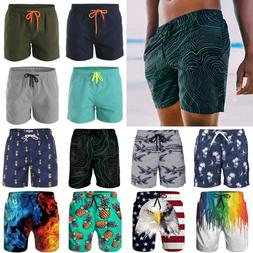 Hot Men's Quick-Dry Swim Trunks Beach Shorts Boardshorts Sur