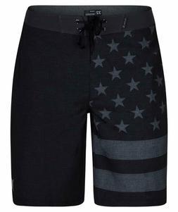 "Hurley Men's Phantom Patriot Cheers USA Flag 20"" Boardshort"