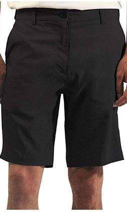 MICROS Hybrid 4 Way Stretch Casual Shorts Black Size 36 NWT