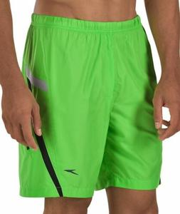 SPEEDO HydroVolley Compress Jammer Lime Green Board Shorts S