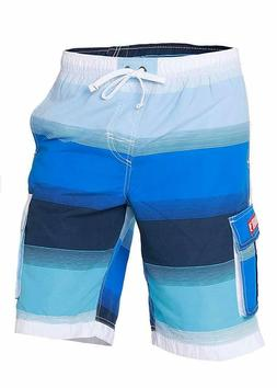 INGEAR Little Boys Quick Dry Beach Board Shorts Kids Swim Tr