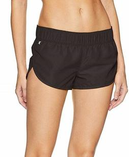 Hurley Junior's Supersuede 2.5 Inch Board Swim Short, Black/