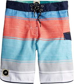 Rip Curl Kids Mens All Time Boardshorts  Red 25  One Size