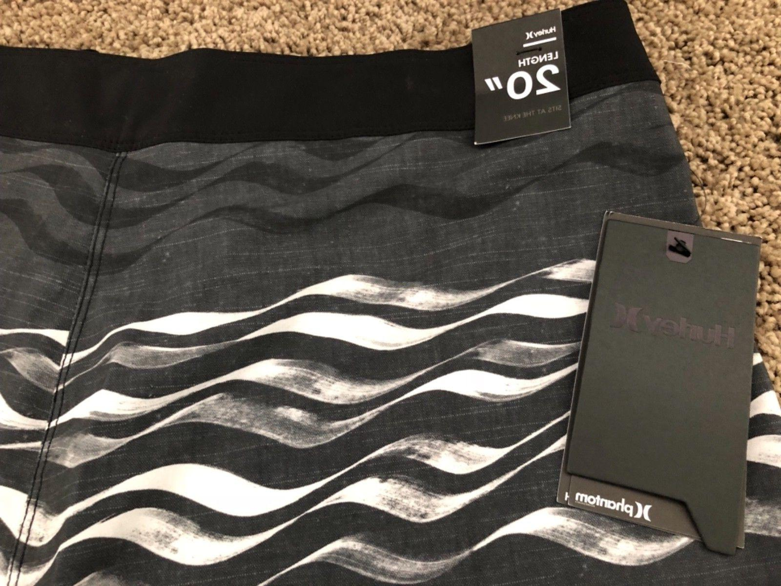 $55 - BRAND HURLEY PHANTOM CURRENTS MENS BOARD SHORTS 31 32