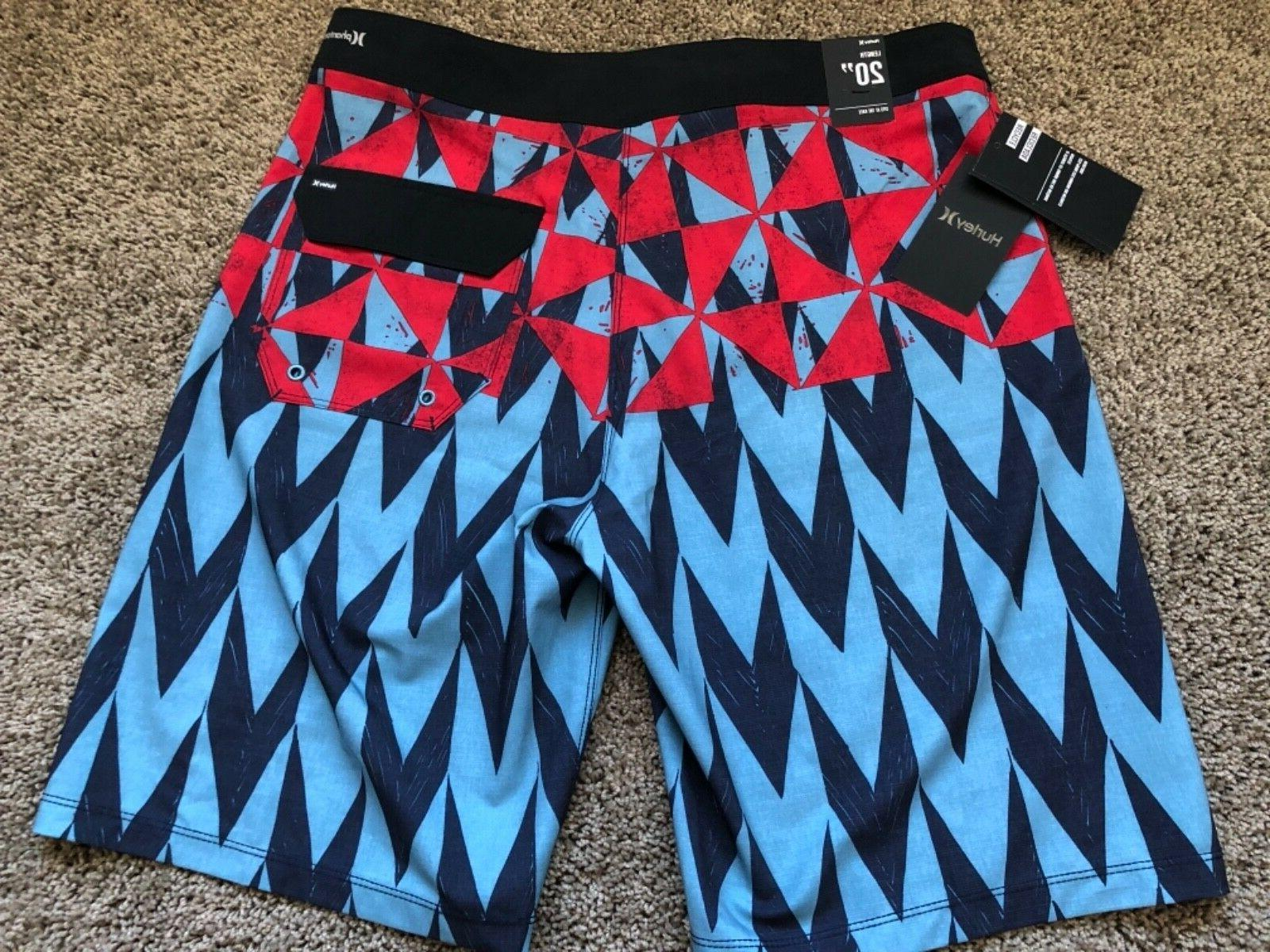 $55 NEW HURLEY MENS BOARDSHORTS BOARD SHORTS 30 34 x