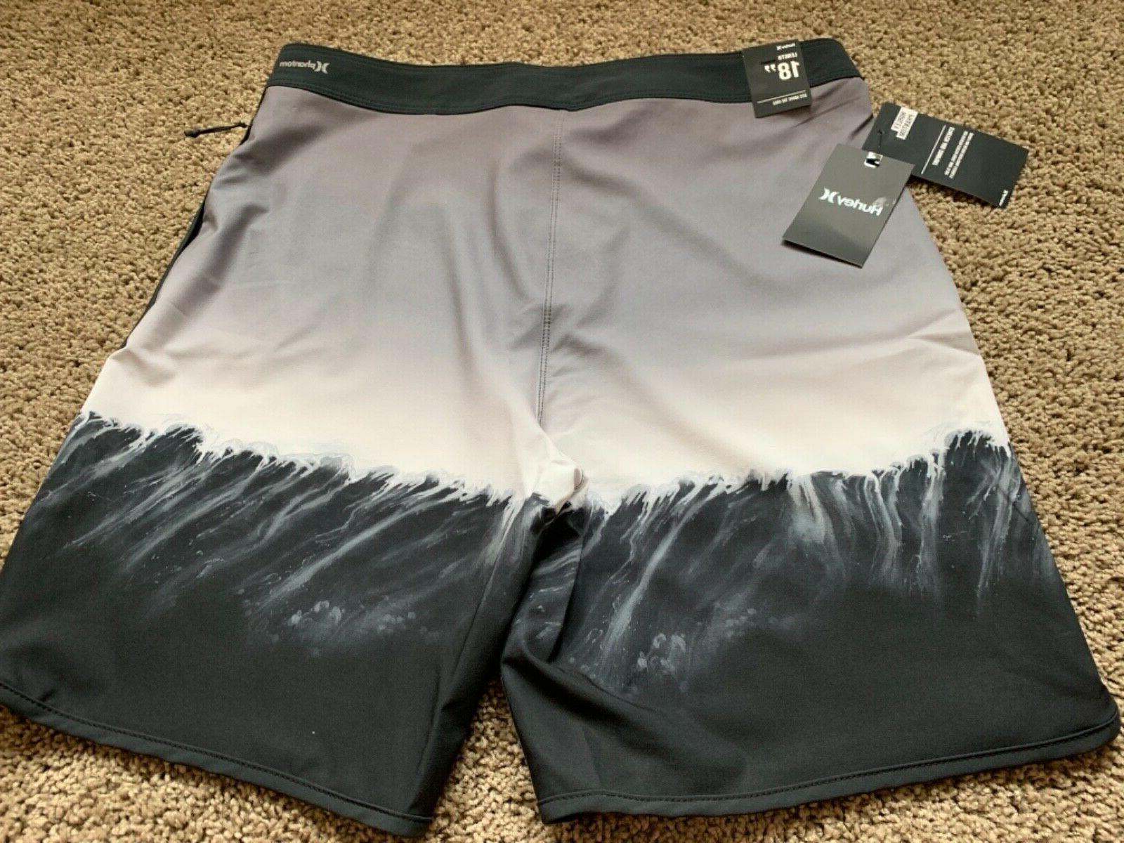 $65 HURLEY PHANTOM MENS SHORTS 34 36 x 18