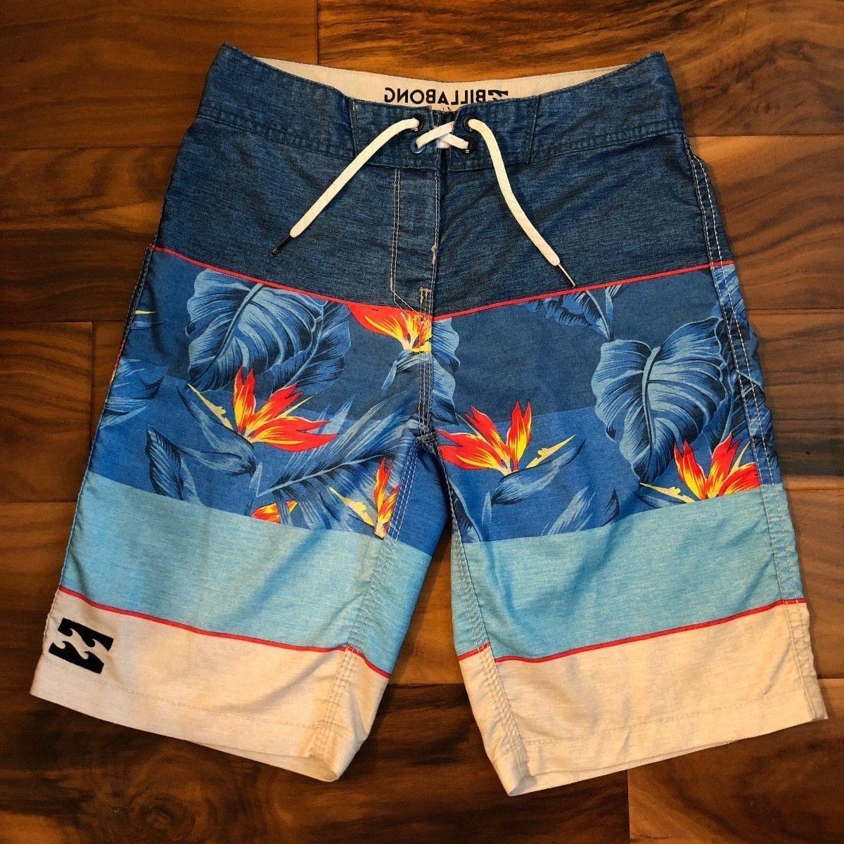 Billabong Men's Blue Paradise OG Boardshorts, Size 32, NWT
