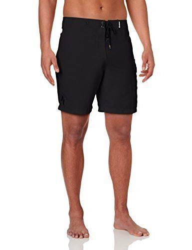 Hurley Men's One and Only 22 Inch Supersuede Boardshort, Bla