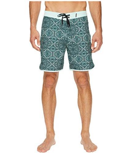 """Hurley  Men's Phantom Casa 18"""" Boardshorts Mint Foam Swimsui"""
