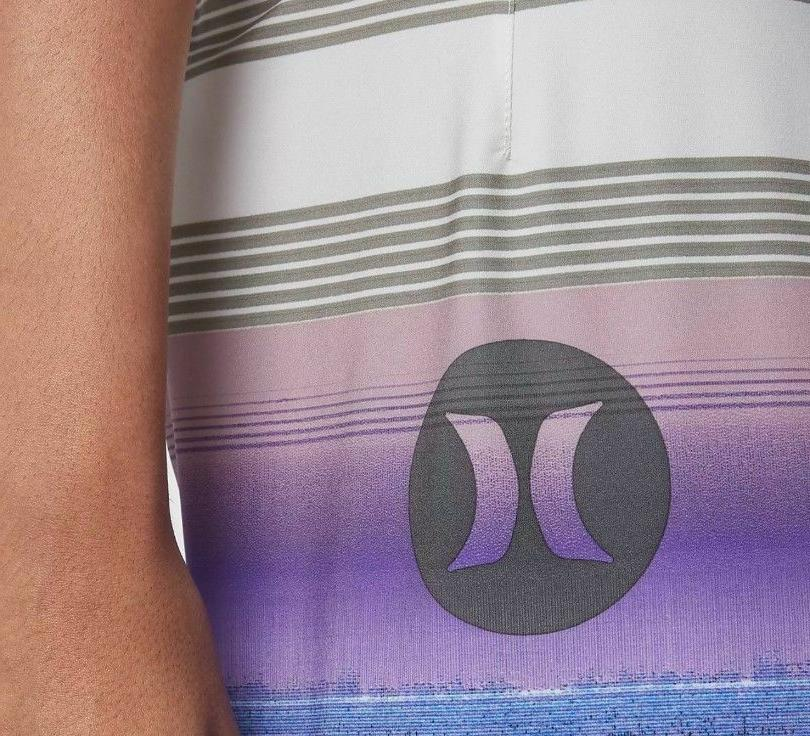 Hurley Phantom Boardshorts Light Purple Blue 32