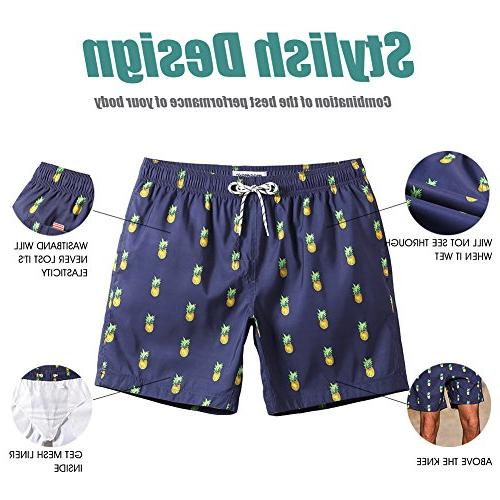 MaaMgic Mens Quick Dry Trunks Mesh