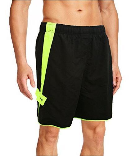 Mens Nike Boardshorts - Swim Trunks - Bathing Suit - Black w
