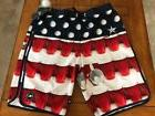 O'Neill Men's Beerpong Scallop 24-7 Boardshorts size waist 3