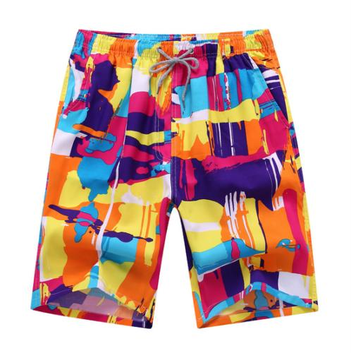 New Quick Dry Swimming Surf Board Pants Beach Shorts Men Tru
