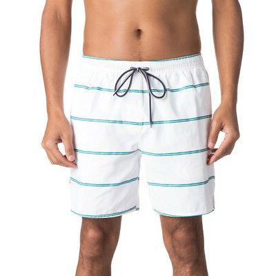 Quiksilver Men's Waterman Overboard Boardshorts Volley White