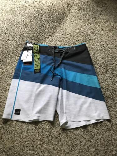 "Rip Curl Mirage MF React Ultimate 20"" BoardShorts Size 30"