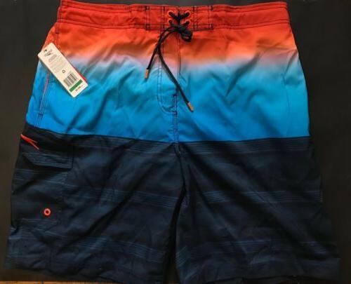 7b99c971f7 Speedo Men's Surging Stripe EBoard Boardshorts Swim Trunks L
