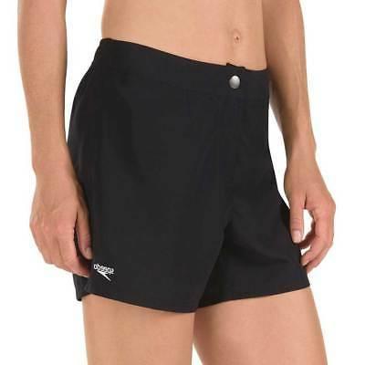 Speedo Women Vapor Plus Board Shorts Black Large