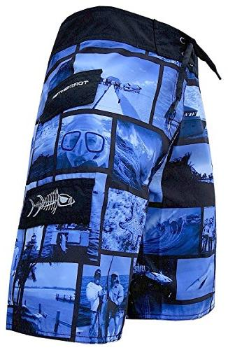 Tormenter Mens Waterman Life Boardshorts 40 Blue FBA