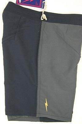 Lightning Bolt Board Shorts One Rock Navy Boardshorts Swimwear