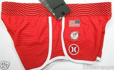 Hurley USA Olympic Red Waist