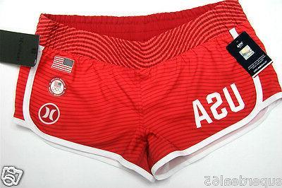 board shorts phantom usa olympic red elasticated