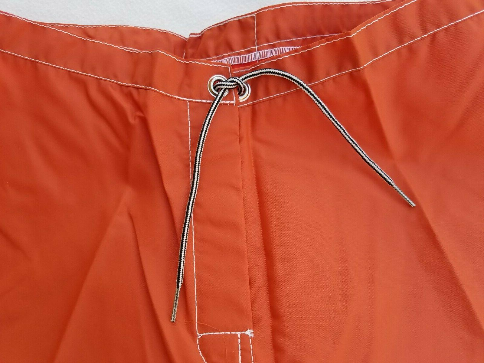 Shorts Size 34-38 Trunks Orange