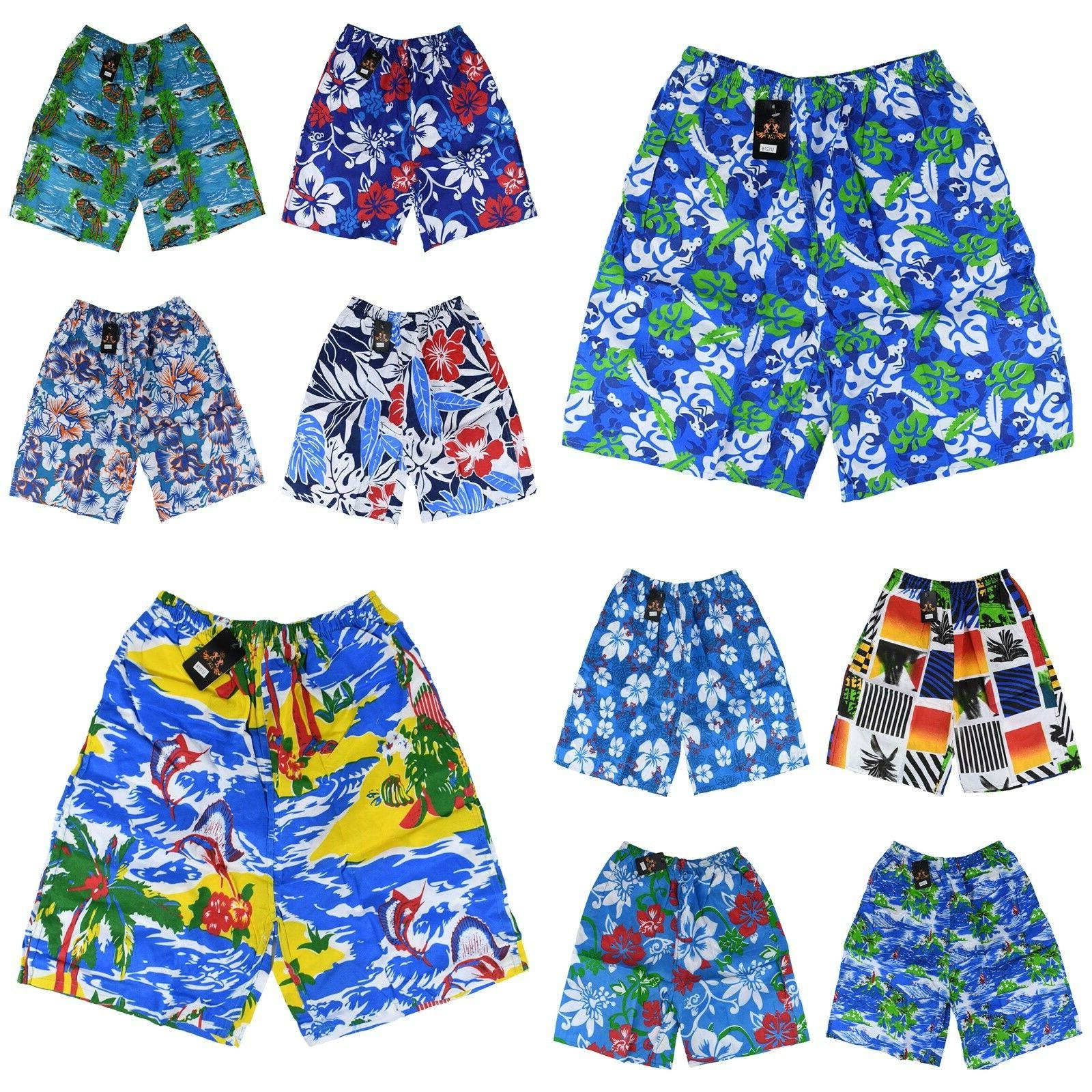 boys mens swimming board shorts swim shorts