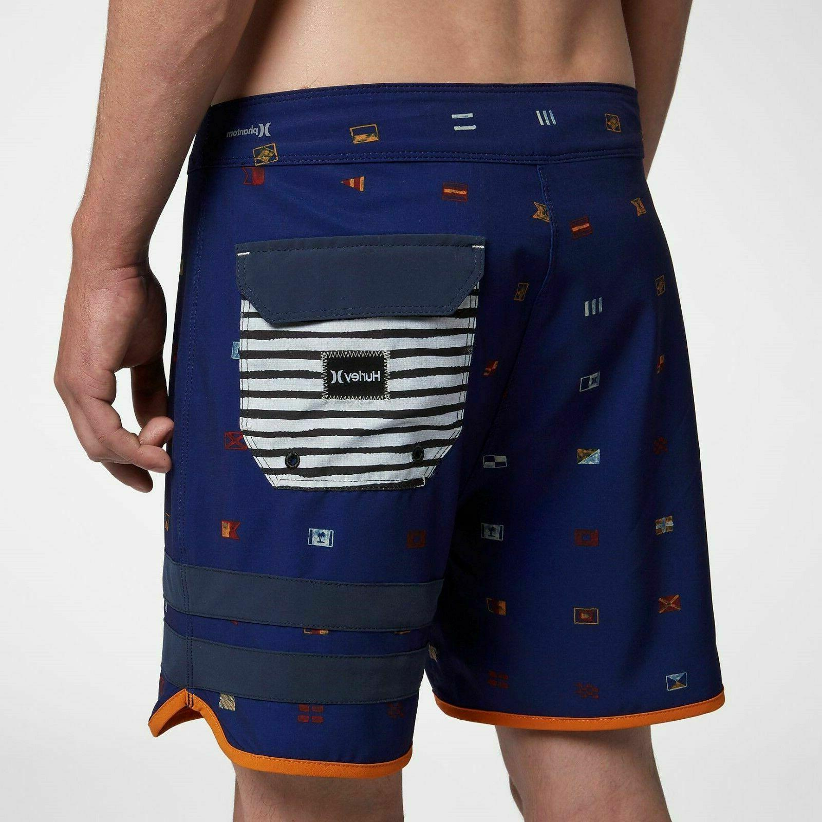 Hurley BP Seaworthy Inch Board Shorts Blue Swimwear Summer Beach