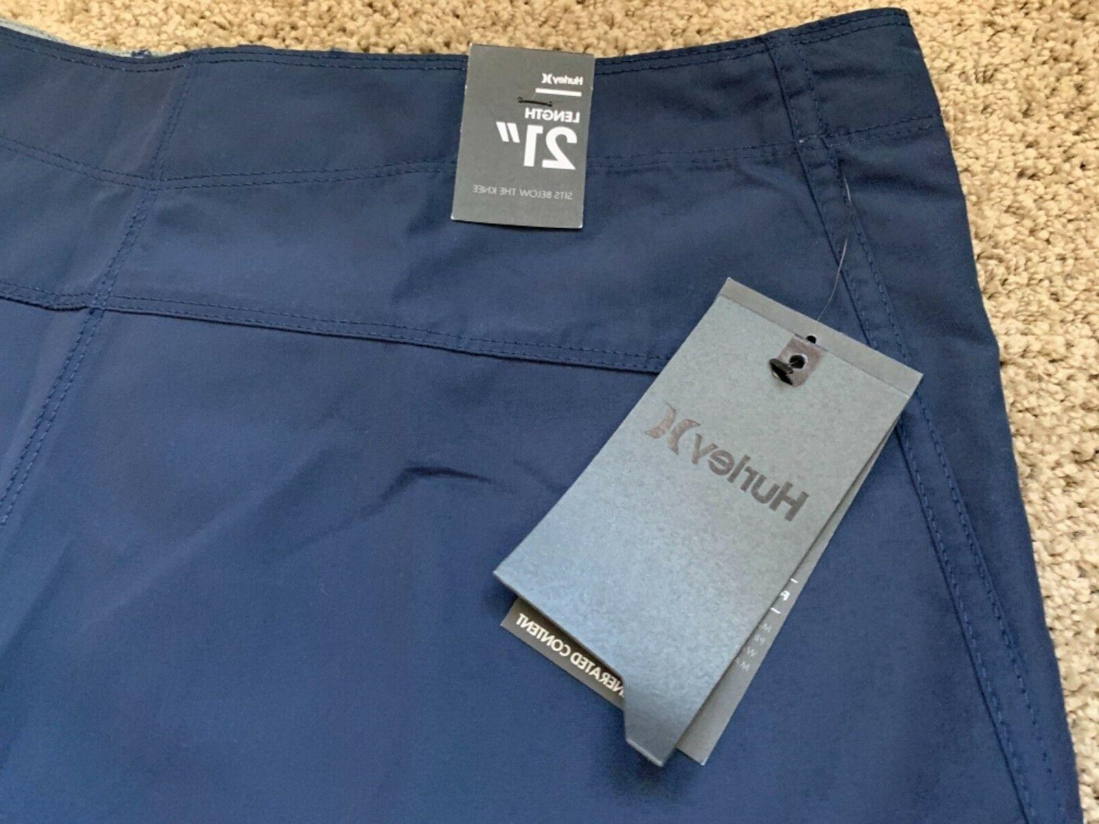 BRAND NEW HURLEY BLUE BOARD SHORTS ONE 29 30