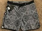 BRAND NEW HURLEY PHANTOM BLACK GRAY CASA MENS BOARD SHORTS 3