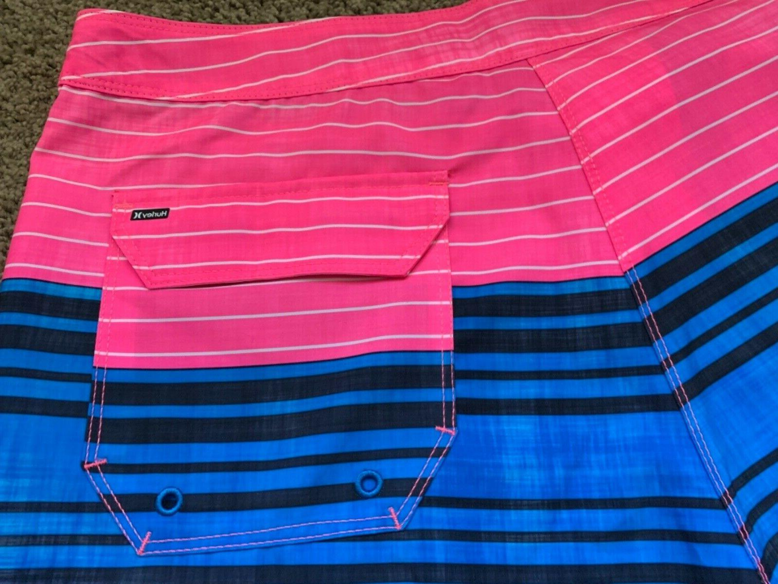 BRAND NEW SS PINK BOARD SHORTS 32 33 34 x