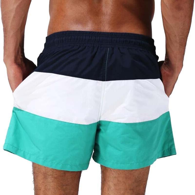 Escatch Brand Swimsuit Swimming Trunks Surf Sport Swimwear Men Man Gym