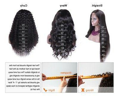 Brazilian Body Full Lace Wigs Human Black Women