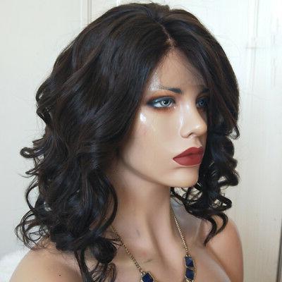 Brazilian Short Body Full Lace Front Wigs Human Hair Wigs For Black Women