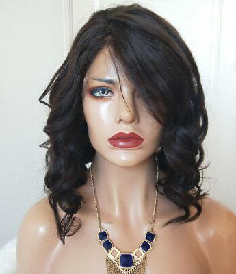 Full Lace Human Hair Wigs For Black