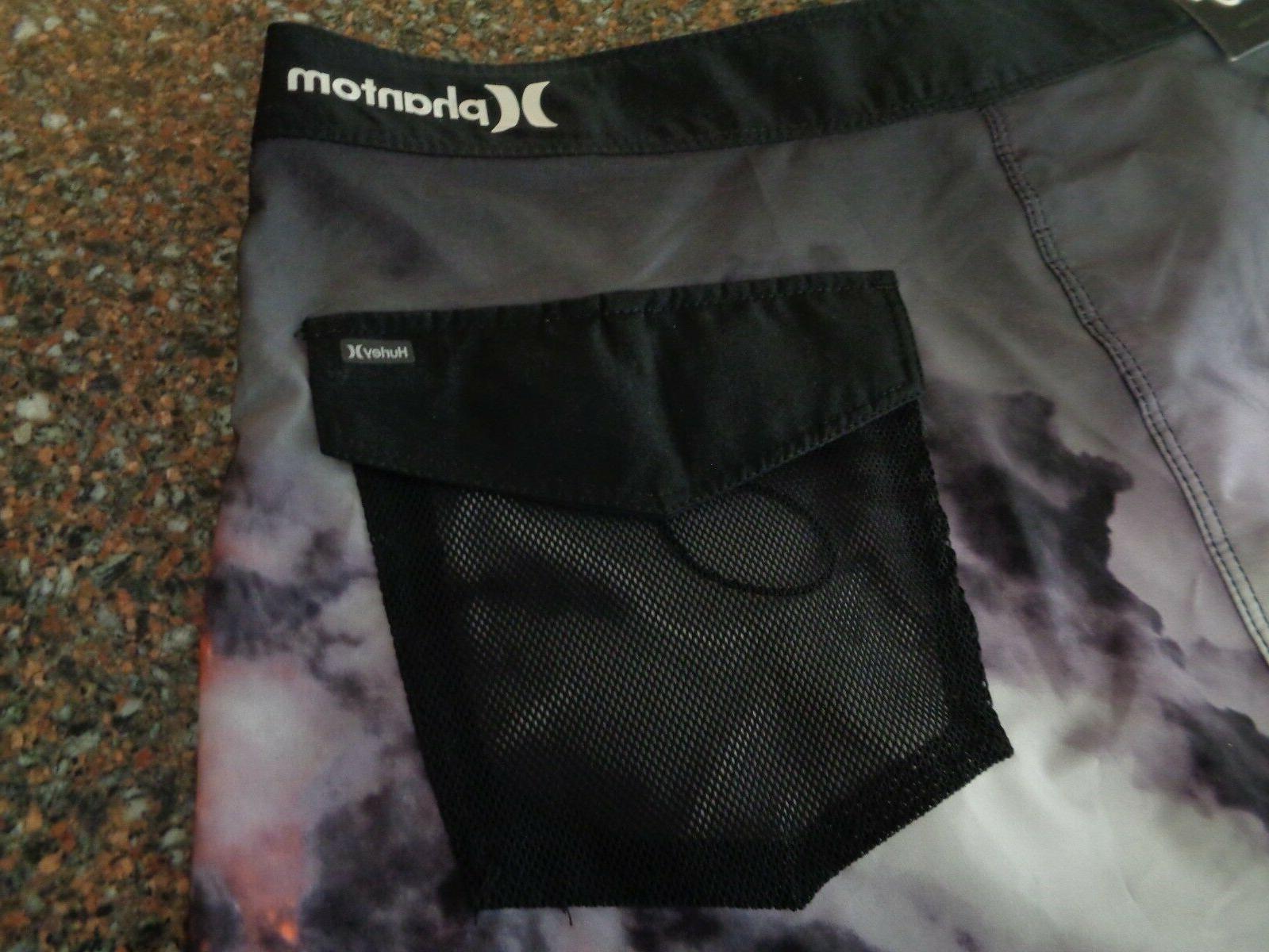 Hurley Clark Lava Board Shorts Size NWT Length