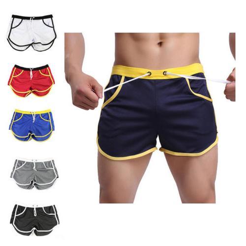 Fashion Men's Short Pants Gym Fitness Running Sports Wear