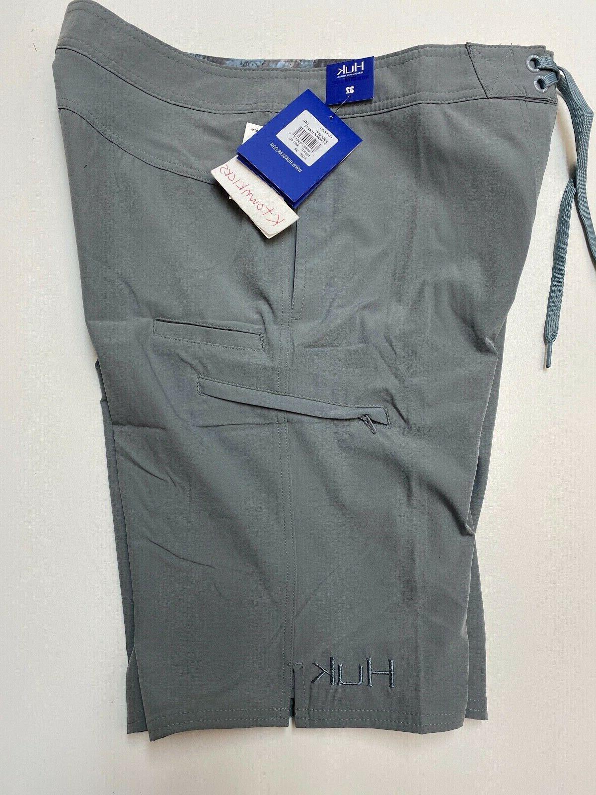 Huk Freeman Performance Board Shorts Size