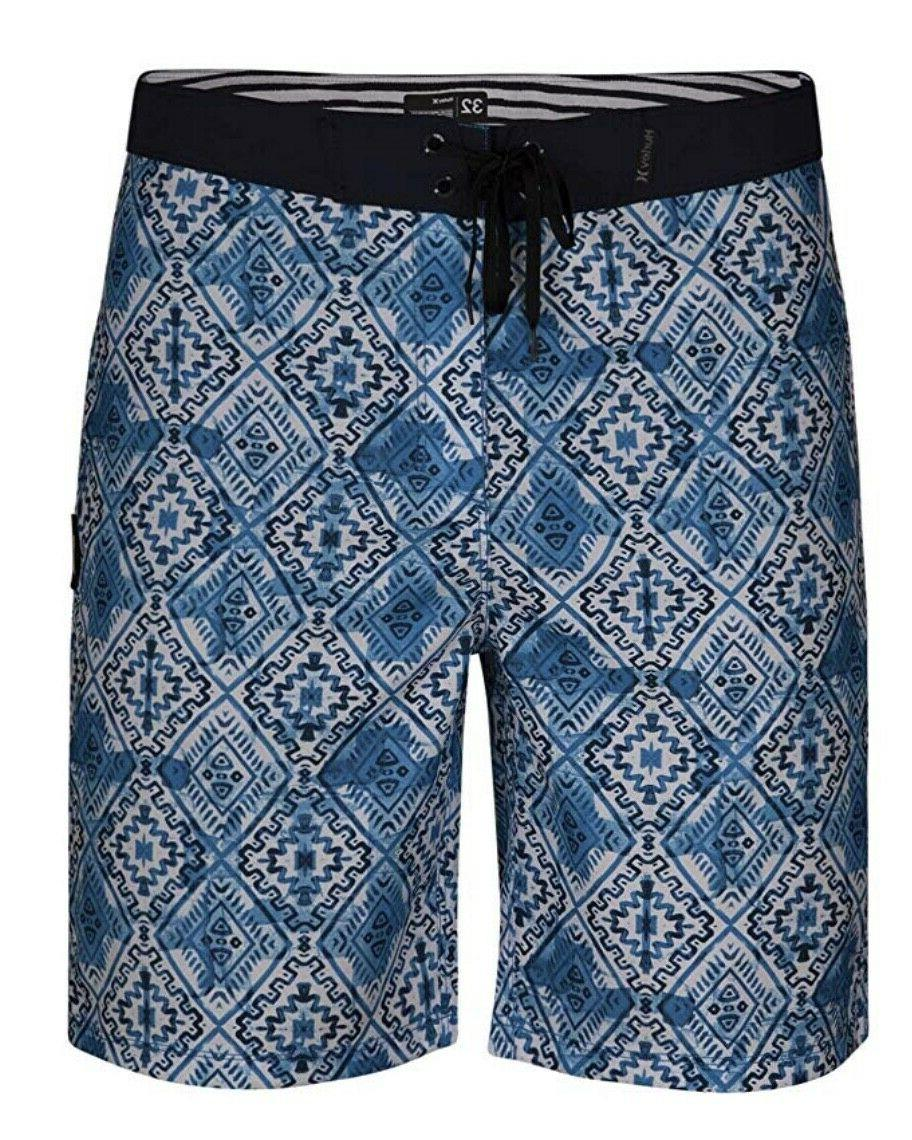 groovy 20 boardshorts supersuede blue white swim