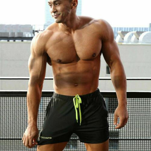 HOT Men's swimwear Gym Run short casual summer pants Short US