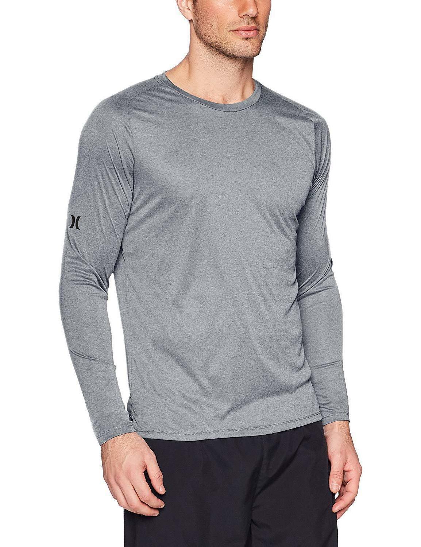 Hurley Men's Dri-fit Long Sleeve Sun +50 UPF