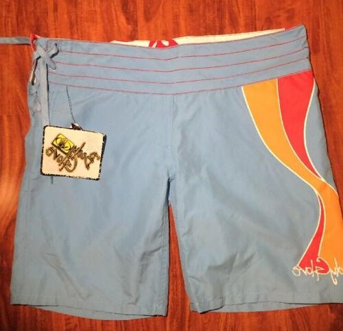Body Glove Juniors Blue Boardshorts Catch the Wave Size 11 N