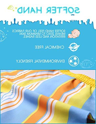 MaaMgic Toddler Boys Cute Boardshorts Quick Suit