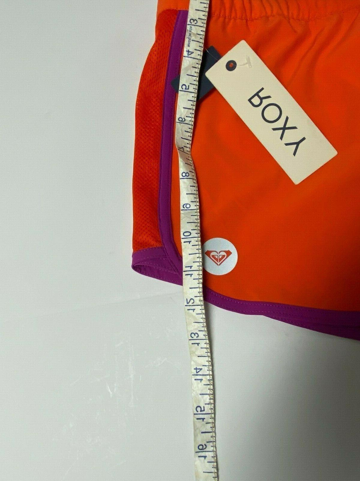 Shorts Size Orange Mesh Panels Brief Liner