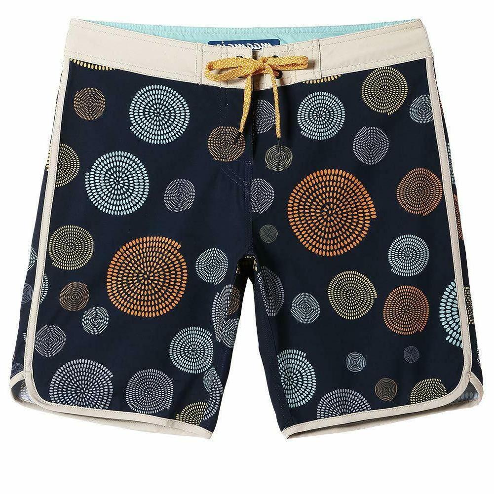 MaaMgic Mens Wear 4 Stretch Trunks Board Shorts Funny Qucik Dry