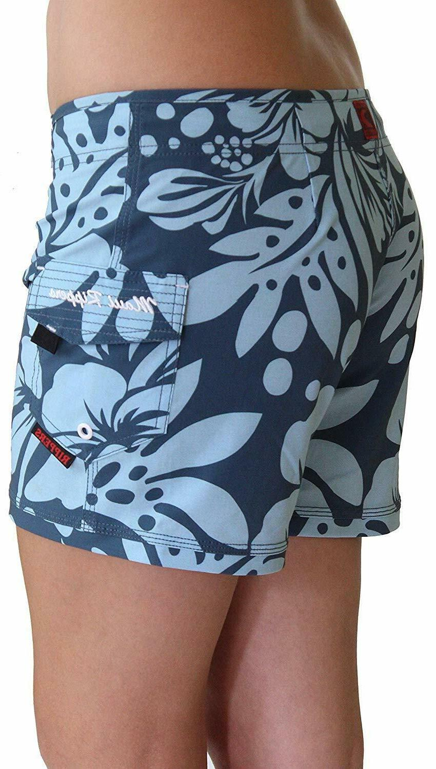 Maui Rippers Women's Stretch Swim Boardshorts