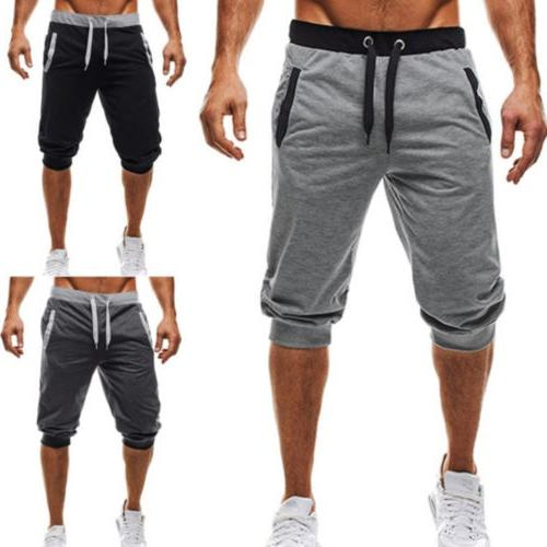 Men GYM Shorts Running Jogging