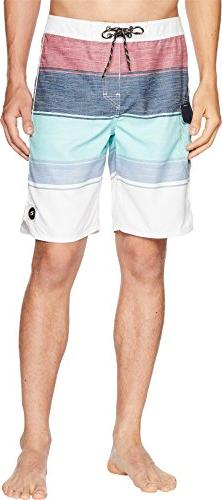 "Rip Curl Men's All Time 20"" Board Shorts, Teal 15, 33"