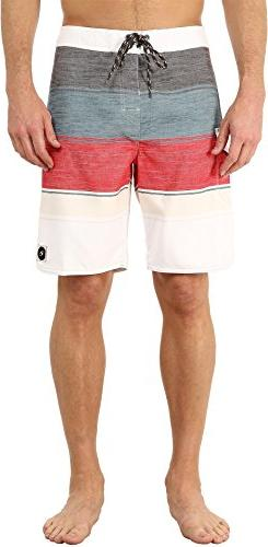 Rip Curl Men's All Time Boardshorts, Red, 28
